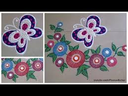 easy butterfly rangoli easy rangoli designs with colors by