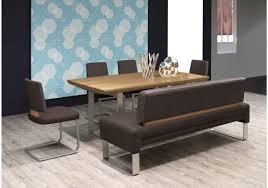 Esszimmer Graue Wand Esszimmer Set Tisch 180 280 X 95 Cm Mit Bank Und Schwingern