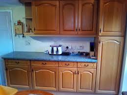 14 solid light oak kitchen cabinet doors with hinges u0026 handles