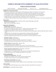 Resume Sample Summary by 100 Professional Summary Examples For Resume Examples Of