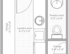 powder room floor plans buat testing doang 3 bedroom bungalow floor plans with sizes