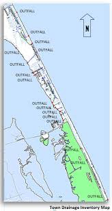Map Of Outer Banks Nc Stormwater Management Town Of Nags Head