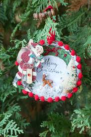 how to make a beautiful vintage style christmas ornament home