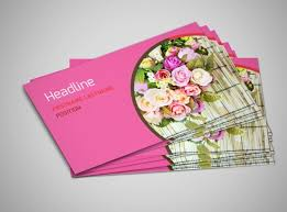 florists u0026 flower delivery service business card template