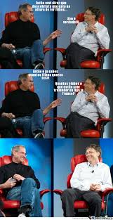 Steve Jobs Meme - steve jobs and bill gates weknowmemes generator