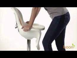 Pedestal High Chair Boon Flair Pedestal Highchair Youtube