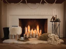 fireplace decorating ideas best 25 candle fireplace ideas on pinterest fireplace with