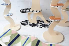 Cool Cat Furniture Cool Cat Furniture Features Bold Rug Patterns Curbed
