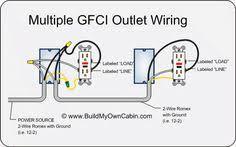 gfci outlet wiring diagram pdf 55kb electrical pinterest