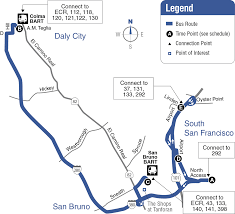 Bart Route Map by Route 38