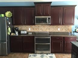 Kitchen Cabinets Knoxville Tn N Hance Wood Refacing By Cabinet Color Change In Knoxville Tn
