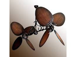 twin star ii ceiling fan twin star ii double ceiling fan oiled bronze with 13 blade options