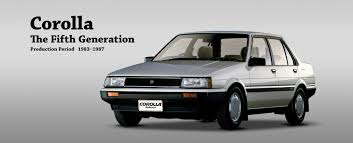 products of toyota company toyota global site corolla the fifth generation 01