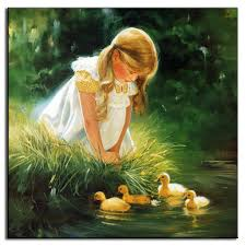 compare prices on duck family painting online shopping buy low