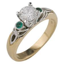 brengagement rings ireland places to find celtic engagement rings lovetoknow