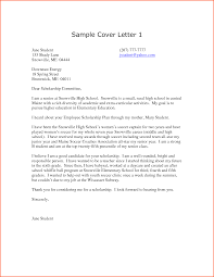 Scholarship Application Cover Letter Sample by High Tutor Cover Letter Validation Technician Cover Letter