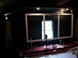 building new home design center forum diy frame using semour center stage xd avs forum crown