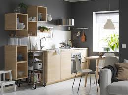 ikea kitchen idea contractor option 4 ikea askersund cabinets for plywood look