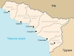 map of abkhazia file map of abkhazia 1992 1995 png wikimedia commons