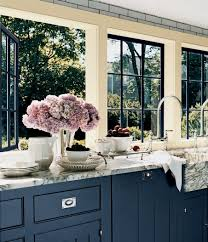 pictures of navy blue kitchen cabinets you considered using blue for your kitchen cabinetry