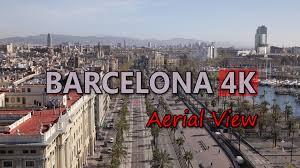 barcelona city view ultra hd 4k barcelona spain aerial view travel sights landmarks
