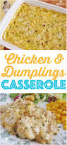 chicken and dumplings casserole recipe at the country cook so easy