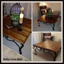 rustic diy coffee table archives hello i live here