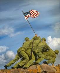 Flag Iwo Jima U S Marines Raise Flag On Mt Suribachi Iwo Jima U2014 Williamsburg