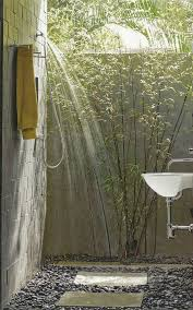 Outside Bathroom Ideas by 49 Best Outdoor Spa Shower Images On Pinterest Outdoor Showers