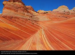 Red Landscape Rock by Nature Blue A Royalty Free Stock Photo From Photocase