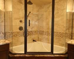 shower corner tub shower superior kohler corner tub shower u201a awe