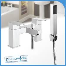 modern lanza chrome bathroom taps sink basin mixer bath filler