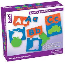 amazon com lauri alphabet puzzles boards toys u0026 games