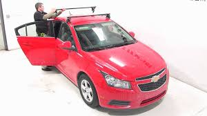 installation of the yakima q tower roof rack on a 2014 chevrolet