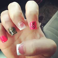 browning nails weird shape and wouldn u0027t do the white tip