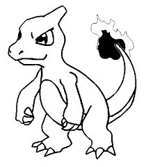 coloring pages pokemon charmeleon drawings pokemon