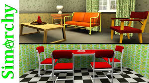 the sims 3 house tour 50s inspired home mid century modern