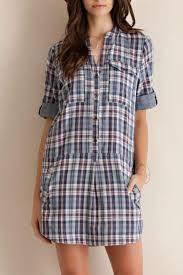 entro plaid shirt dress from north dakota by blue daisy boutique
