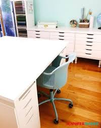 large square craft table crafting desk with storage large craft table with storage craft