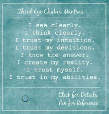 Third Eye Blind Meaning Of Name Affirmations Of The Third Eye Say These As A Mantra To Yourself