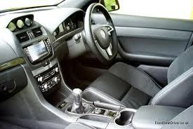 vauxhall vxr8 vauxhall maloo vxr8 2012 interior u2013 front seat driver