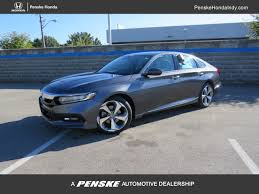 2018 used honda accord sedan touring cvt sedan at penske honda