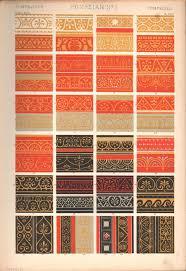 pompeian no 1 print grammar of ornament owen jones