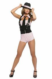 Gangster Woman Halloween Costumes 22 Wear Images Gangsters Gangster