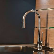 Pull Down Kitchen Faucet Conical Pull Down Kitchen Faucet Yliving