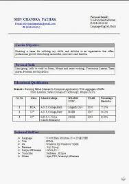 format cv canadian format resume 10 best best logistics resume templates