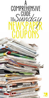 halloween city in store coupons a comprehensive guide to sunday newspaper coupons the krazy