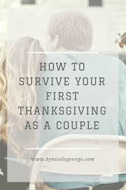 by george how to survive your thanksgiving as a