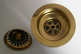 Kitchen Sink Basket Strainer Waste Gold Mm Plumbers Mate Ltd - Kitchen sink basket strainer waste