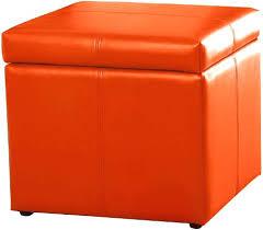 ottoman orange velvet mid century modern chair ottoman burnt